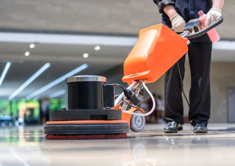 Commercial Cleaning Services Floor Stripping & Waxing